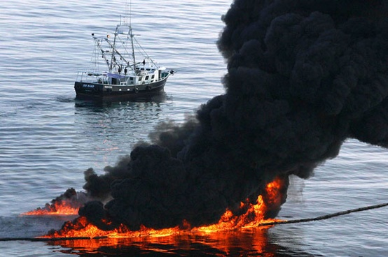 Photo:  Oil Spill in the Gulf of Mexico, 2010