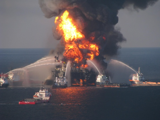Photo:  Oil disaster in the Gulf of Mexico, 2010