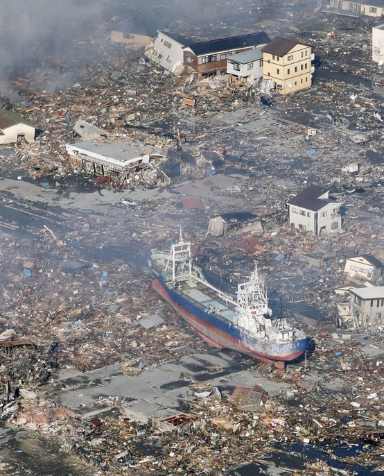 Photo:  Japan 2011 Tsunami (15,828 deaths, 5,942 injured, 3,760 people missing)