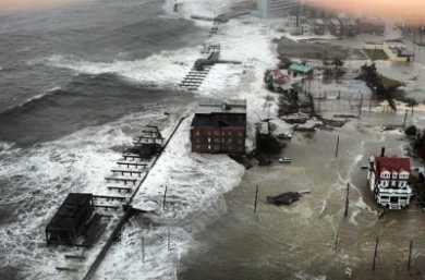 Photo:  Atlantic City Hurricane Sandy 29 10 2012