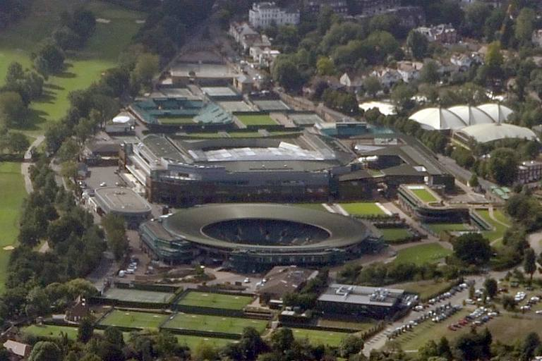 Photo:  Wimbledon view of the grounds