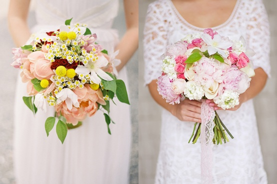 Photo:  two very beautiful bouquets