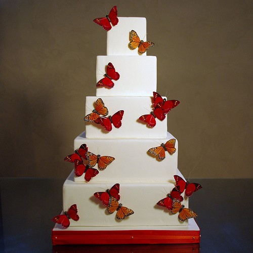 Photo:  ButterFly Themed Cakes