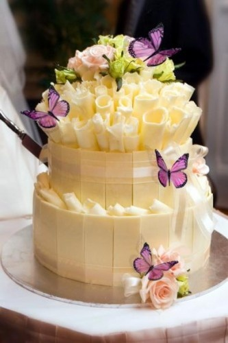 Photo:  Butterfly Wedding Cakes
