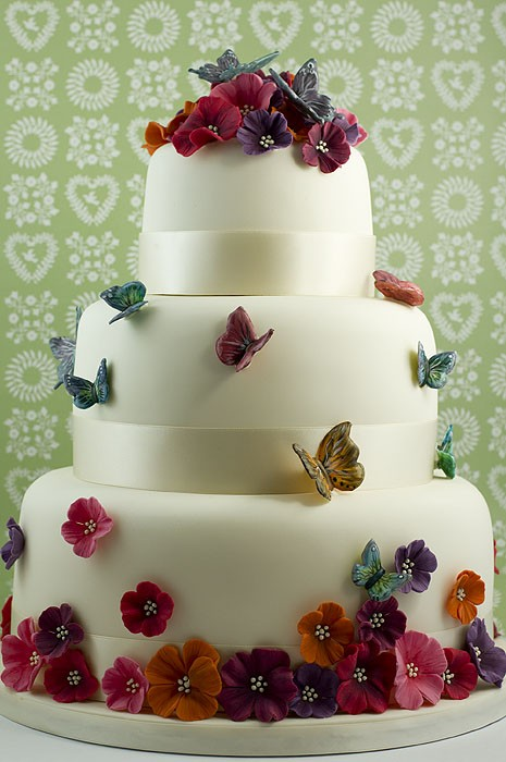 Photo:  prettiest butterfly cakes