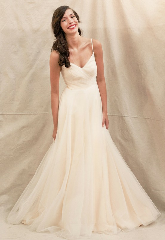 Photo:  informal wedding dress