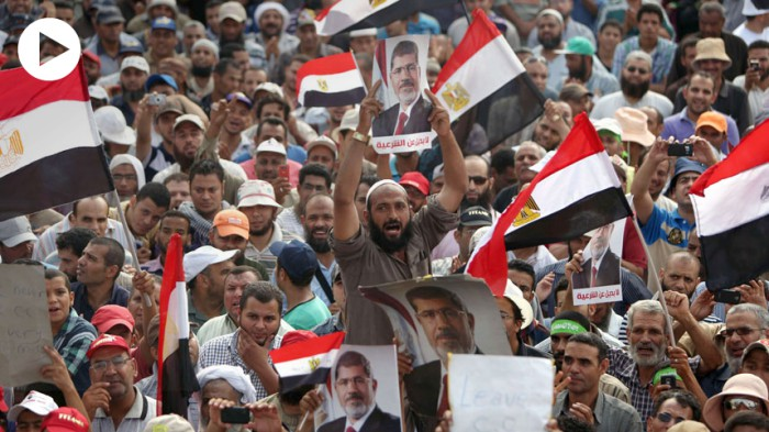 Photo:  The Egyptian 'coup' and ousting of Mohammed Morsi