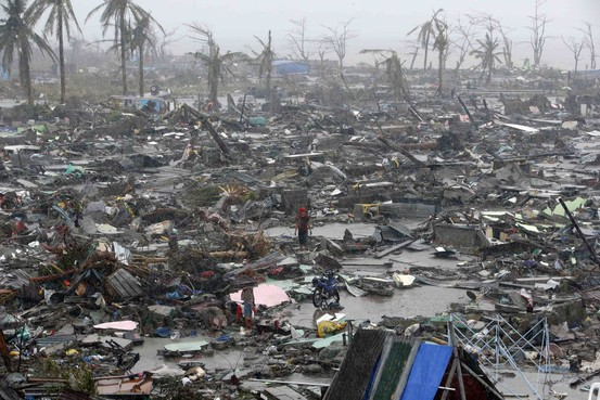 Photo:  Typhoon Haiyan