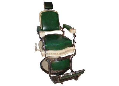 Photo:  barber chair