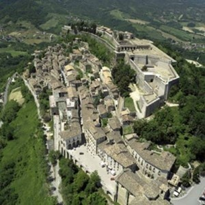 Photo:  Civitella del Tronto castle and town, Abruzzo