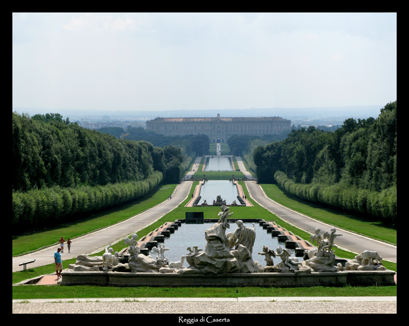 Photo:  Royal Palace of Caserta Italy 2