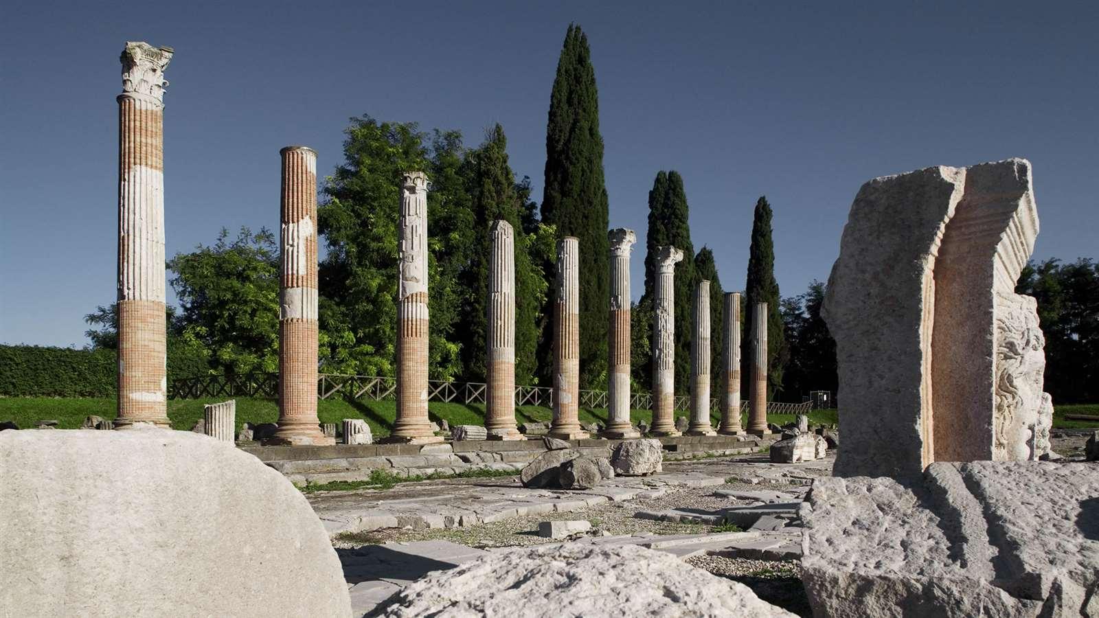 Photo:  Foro Romano Aquileia