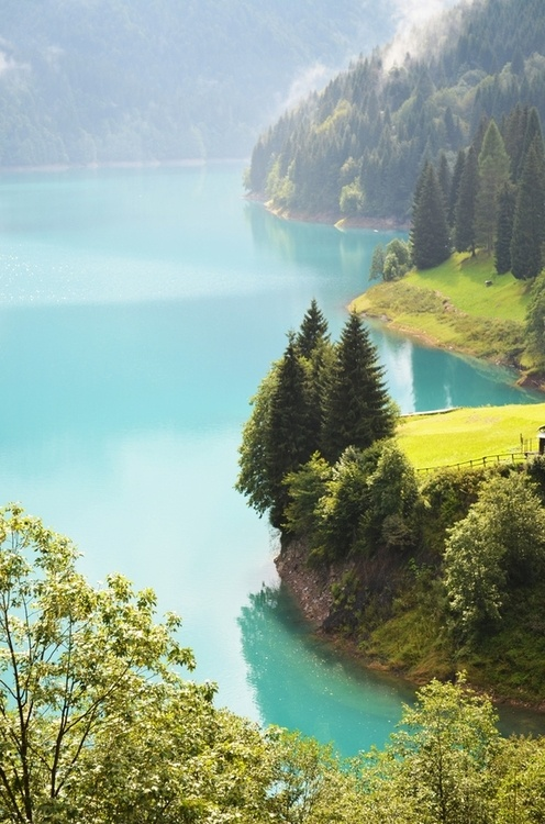 Photo:  Lake Sauris, Friuli