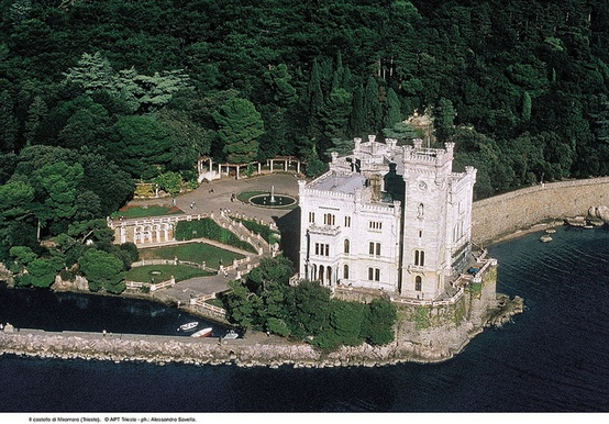 Photo:  The Miramare Castle (Castello di Miramare)
