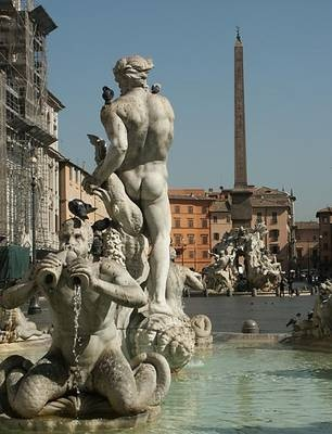Photo:  Piazza Navona,Rome, Italy