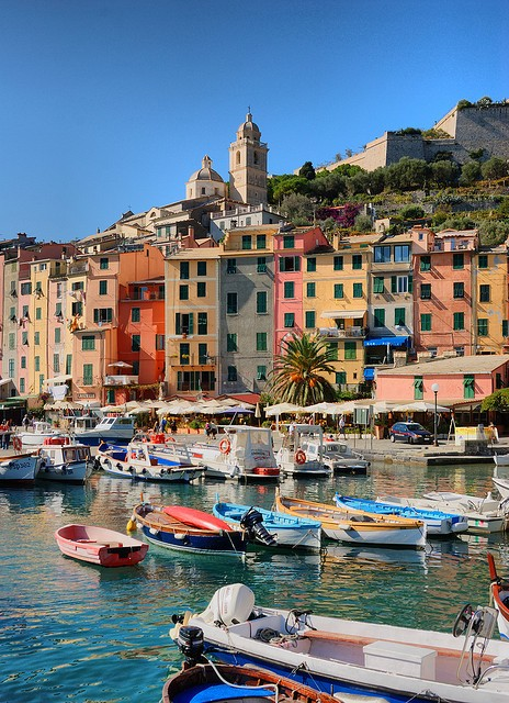 Photo:  Portovenere, Italy