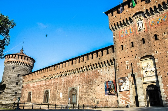 Photo:  Castello Sforzesco (Sforza Castle)