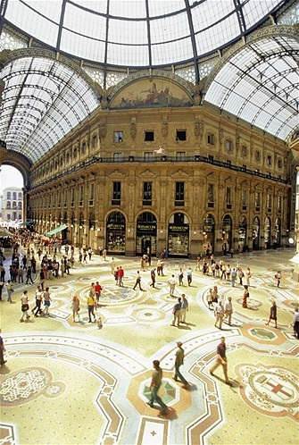 Photo:  Galleria Vittorio Emanuele