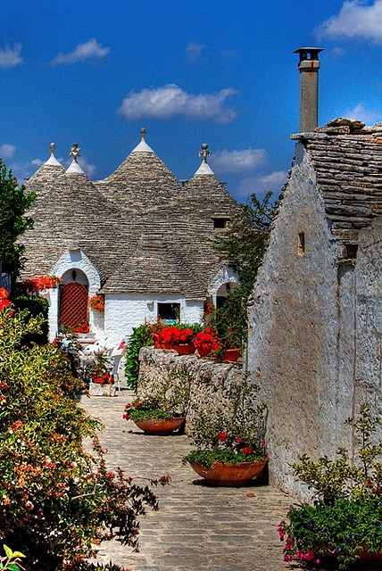 Photo:  Alberobello, Italy