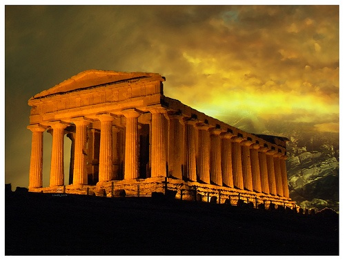 Photo:  Agrigento,Temple of Concordia