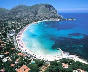 Photo:  Palermo, Mondello beach, Italy