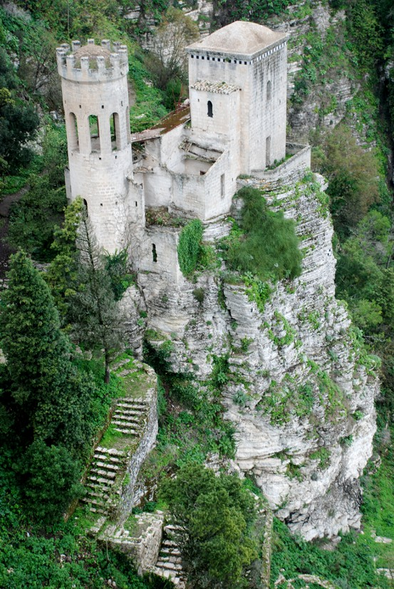 Photo:  Venus Castle in Erice, Sicily