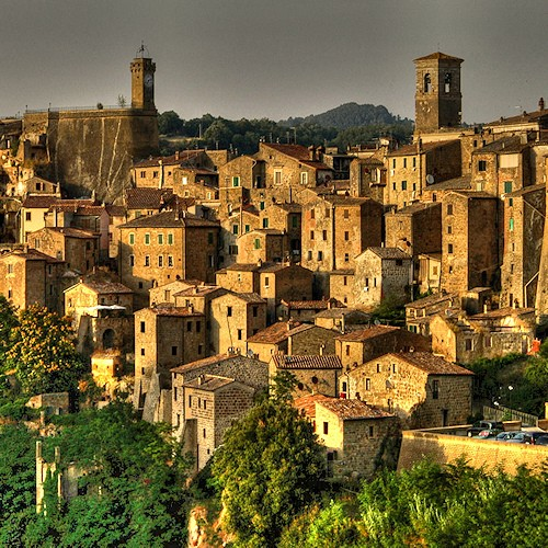 Photo:  Pitigliano, Tuscany, Italy