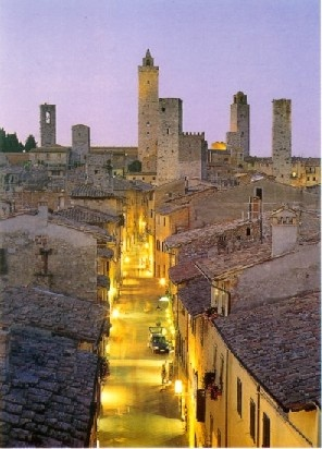 Photo:  San Gimignano , Toscana