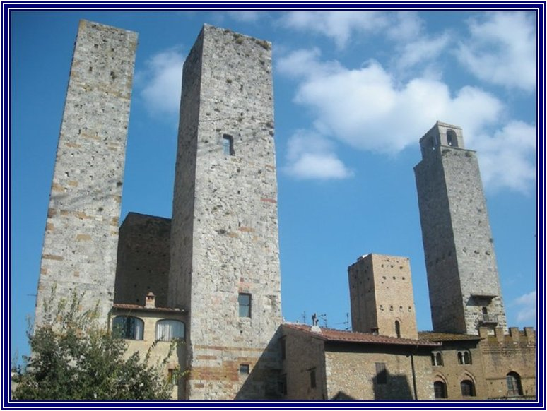 Photo:  The Towers of San Gimignano 2