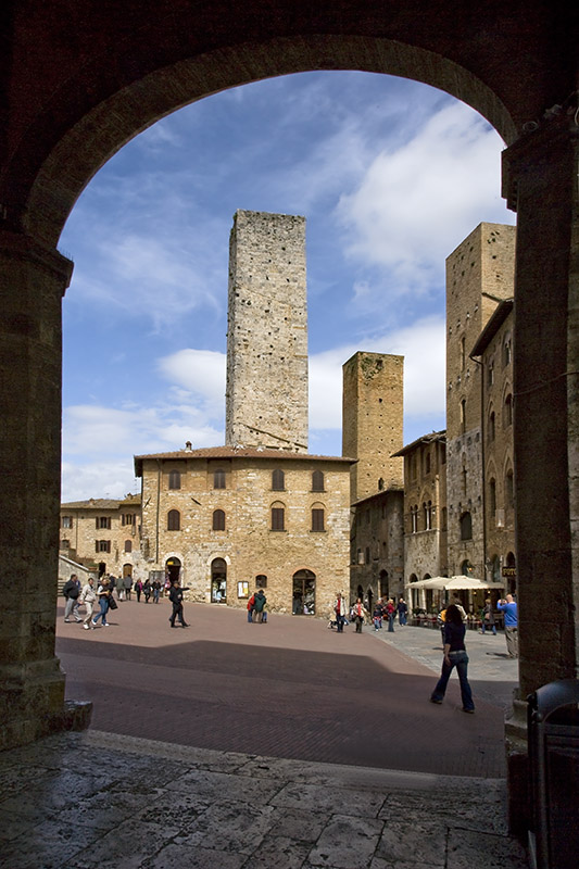 Photo:  The Towers of San Gimignano