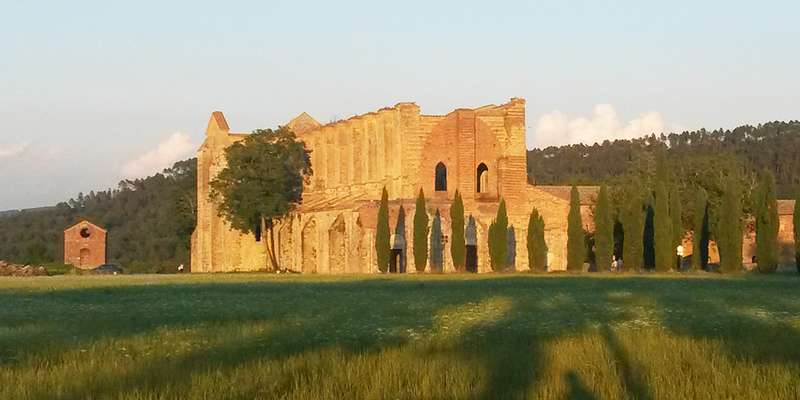 Photo:  Abbey of San Galgano