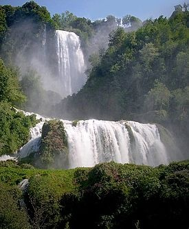 Photo:  Cascata delle Marmore Waterfalls, Umbria, Italy