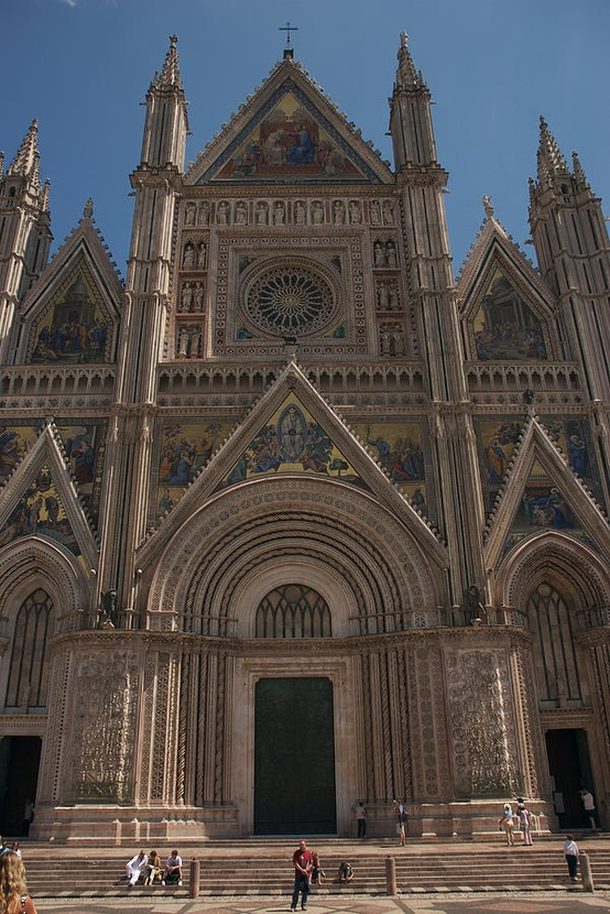 Photo:  Italy's most ornate duomo is in Orvieto, Umbria