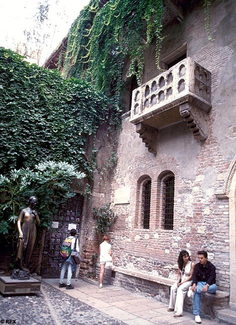 Photo:  Juliet's house in Verona, Italy