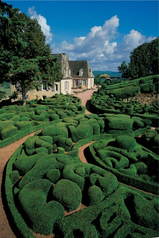 Photo:  Jardins de Marqueyssac