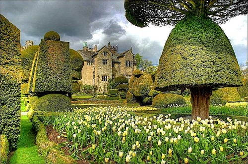 Photo:  Levens Hall, UK