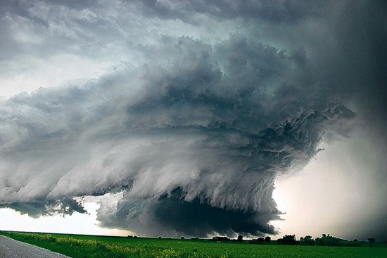 Photo:  A monster tornado