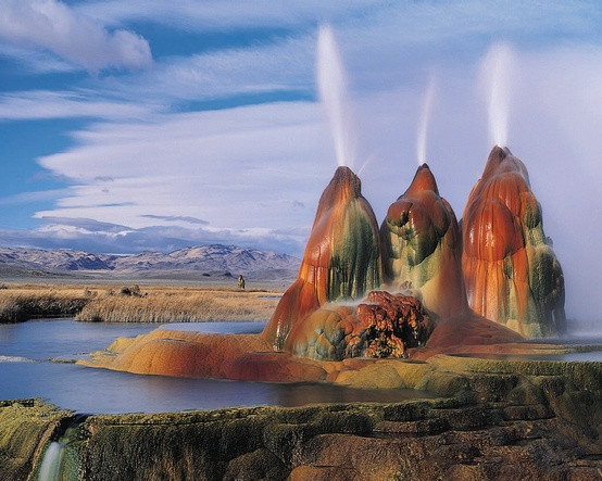 Photo:  Fly Ranch Geyser