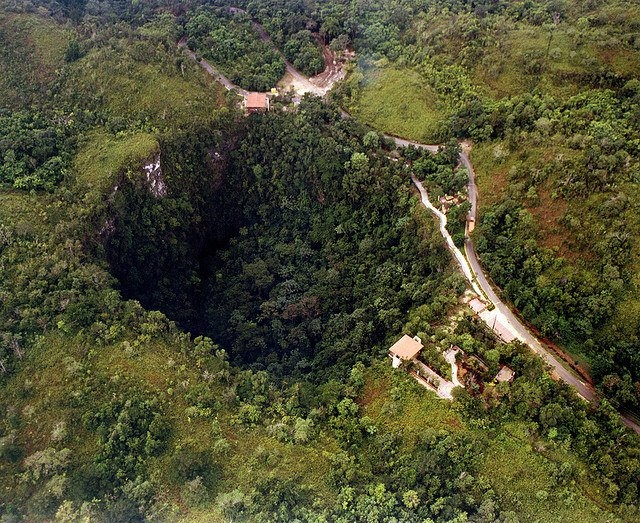 Photo:  Sinkhole Caverns Rio Camuy.