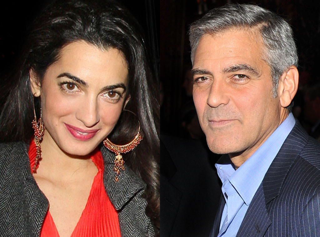 Photo:  Amal Alamuddin and George Clooney 01