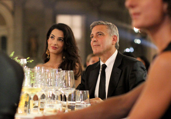 Photo:  Amal Alamuddin and George Clooney 03