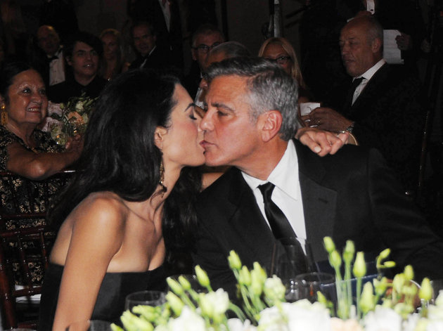 Photo:  Amal Alamuddin and George Clooney 04