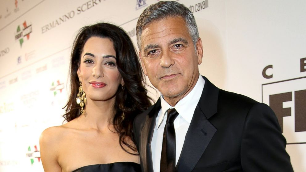 Photo:  Amal Alamuddin and George Clooney 07