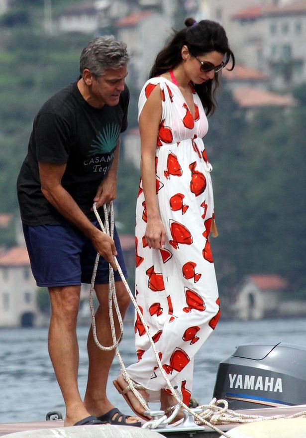 Photo:  Amal Alamuddin and George Clooney 10