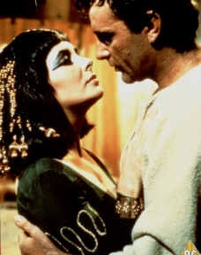 Photo:  Cleopatra (1963) Richard Burton and Elizabeth Taylor