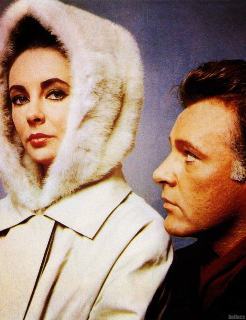 Photo:  Elizabeth Taylor and Richard Burton from The V.I.P.s (1963)