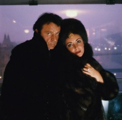 Photo:  Richard Burton and Elizabeth Taylor 1