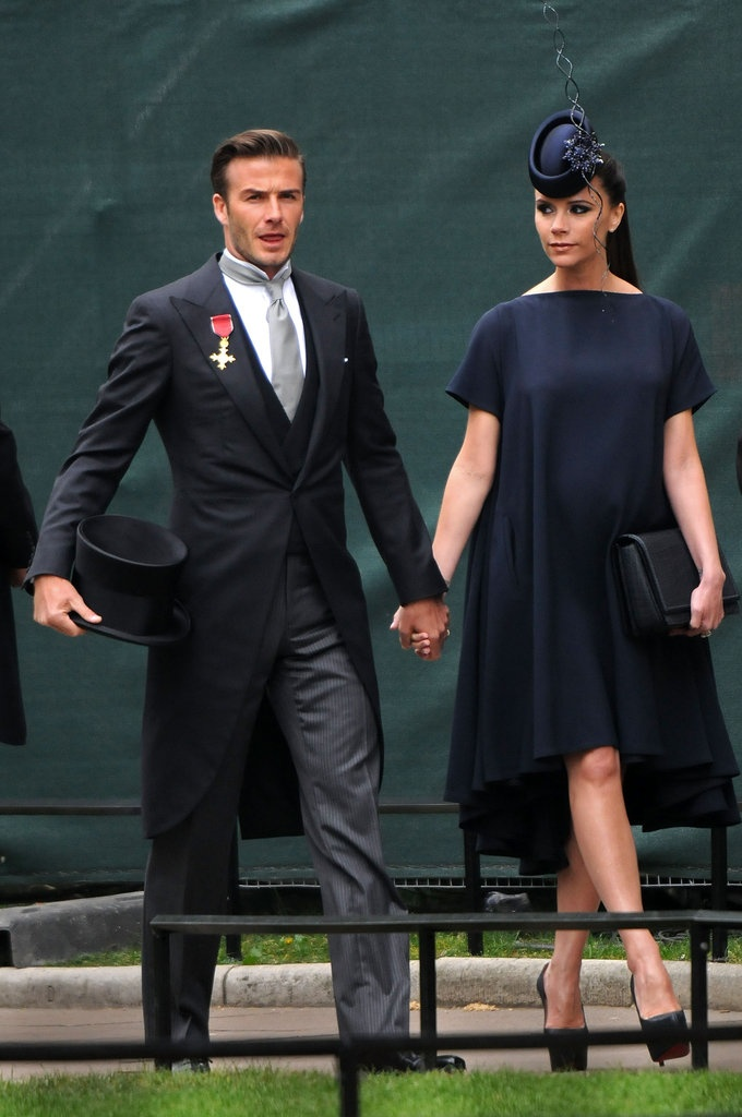 Photo:  Victoria Adams and David Beckham 2011