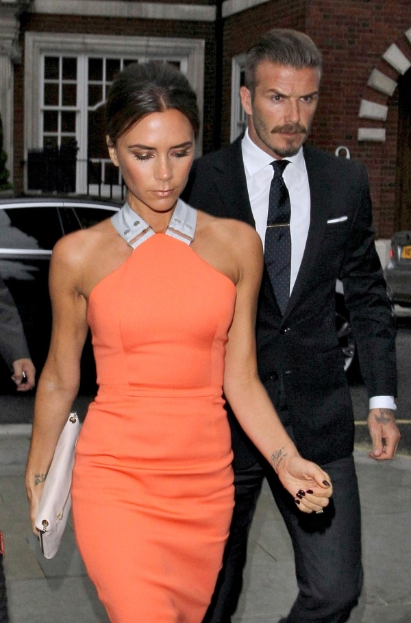 Photo:  Victoria Adams and David Beckham 3