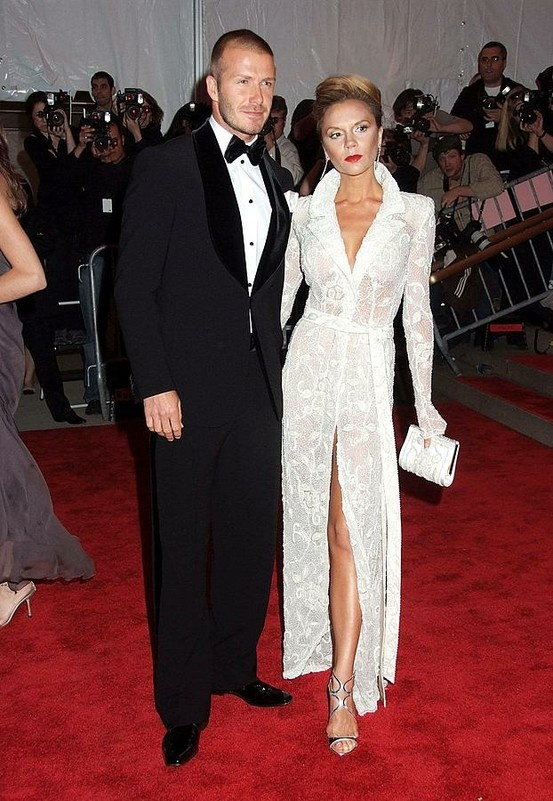 Photo:  Victoria Adams and David Beckham 4